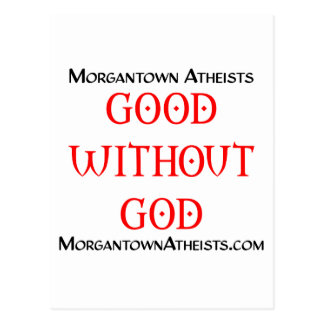 Morgantown Atheists Postcard