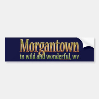 Morgantown, West Virginia Bumper Sticker