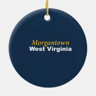 Morgantown, West Virginia Ornament