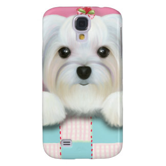 MORKIE SHELLY GALAXY S4 CASE
