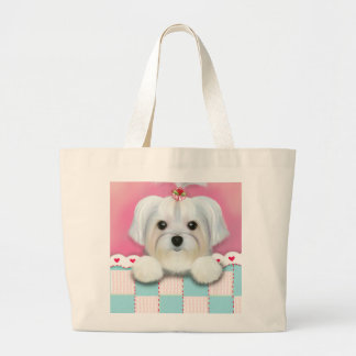 MORKIE SHELLY LARGE TOTE BAG