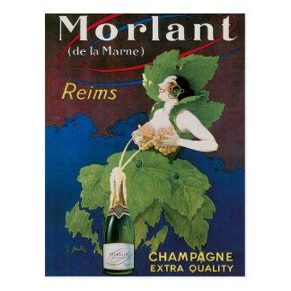 Morlant Champagne Vintage Drink Ad Art Postcard