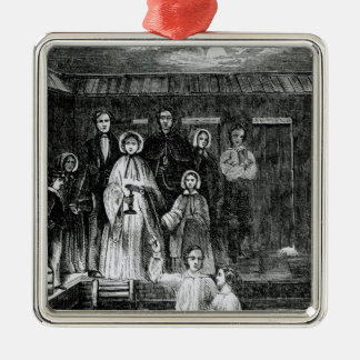 Mormon Baptism Christmas Ornament