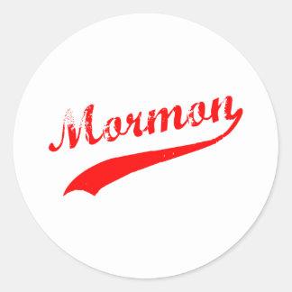 Mormon Classic Round Sticker