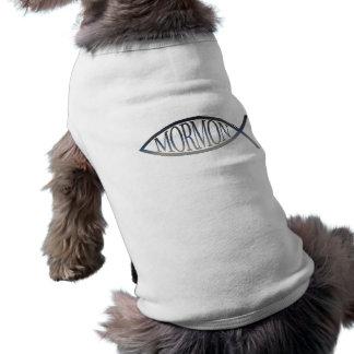 Mormon Fish Dog T-shirt