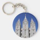 Mormon (LDS) Temple  in Salt Lake City, Utah Key Ring