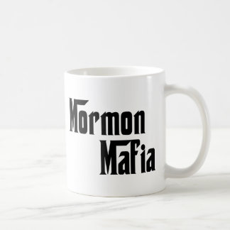 Mormon Mafia Basic White Mug