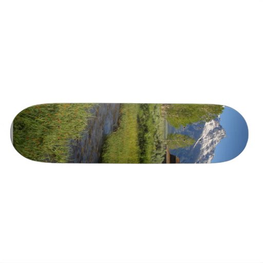 Mormon Row Abrns In Tetons National Park Skateboard