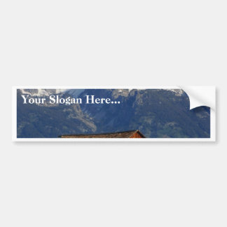 Mormon Row Barn Grand Teton National Park Car Bumper Sticker