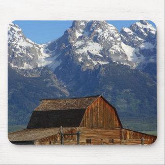 Mormon Row Barn Grand Teton National Park Mousepads