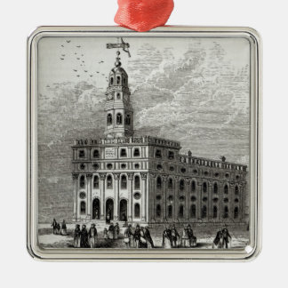 Mormon Temple at Salt Lake, 1854 Christmas Ornament