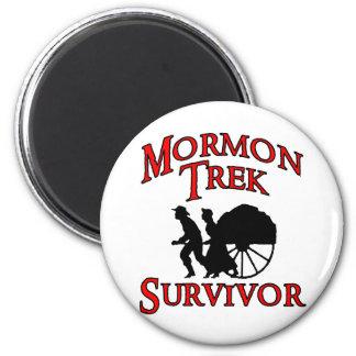 mormon trek survivor fridge magnets