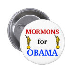 Mormons for Obama 2012 button