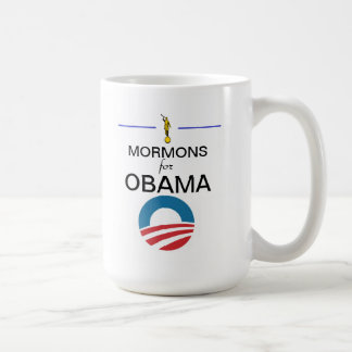 Mormons for Obama Coffee Mug