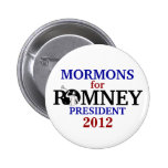 Mormons for Romney 2012 Buttons