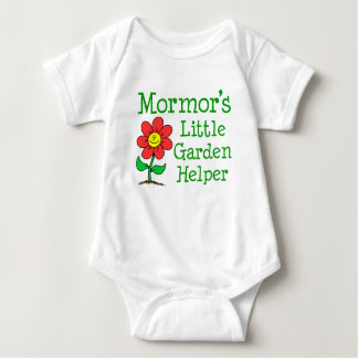 Mormor's Little Garden Helper Baby Bodysuit