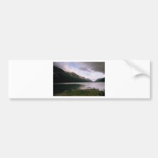 Morning at Lake Bennett Bumper Stickers