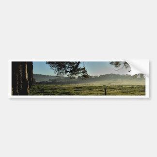 Morning at the Farm Bumper Sticker