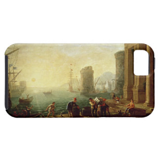 Morning at the Port, 1640 (oil on canvas) iPhone 5 Cover