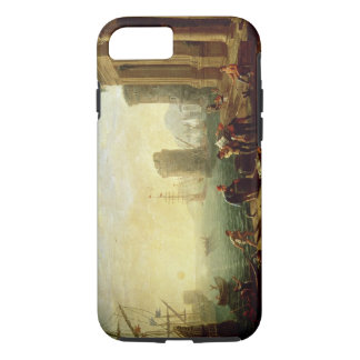 Morning at the Port, 1640 (oil on canvas) iPhone 8/7 Case