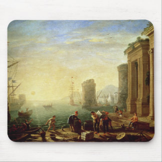 Morning at the Port, 1640 (oil on canvas) Mouse Mat
