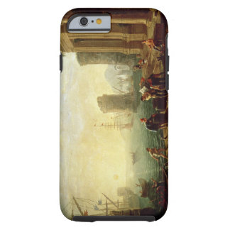 Morning at the Port, 1640 (oil on canvas) Tough iPhone 6 Case