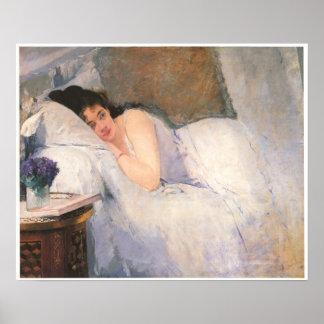 Morning Awakening Eva Gonzales Print