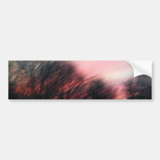 Morning Blur Car Bumper Sticker