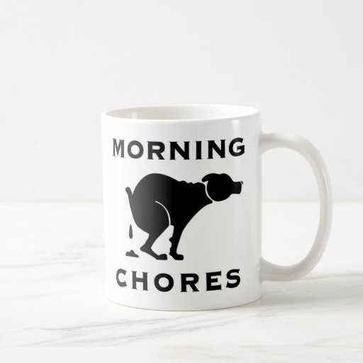 Morning Chores Coffee Mug