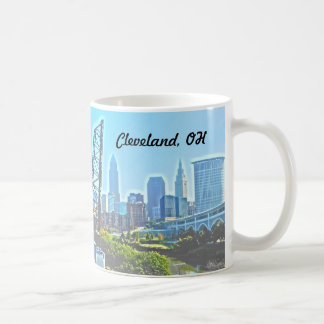 Morning Cleveland Ohio Mug
