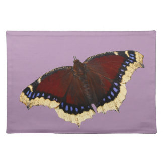Morning cloak butterfly design placemats