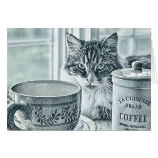 Morning Coffee -- All Purpose Note Cards