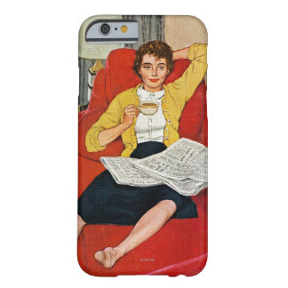 Morning Coffee Break Barely There iPhone 6 Case