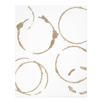 Morning Coffee Cup Stains 21.5 Cm X 28 Cm Flyer