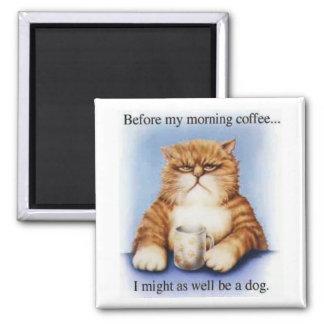 Morning Coffee Fridge Magnets