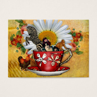 Morning Cuppa Business or Introduction Card