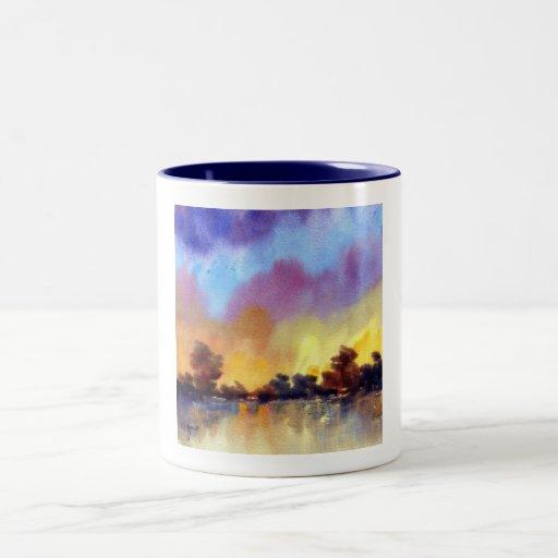 Morning Dawn in Watercolour Mug