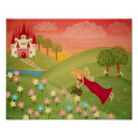 Morning Dew - 8x10 Garden Fairy Girls Kids Art Poster