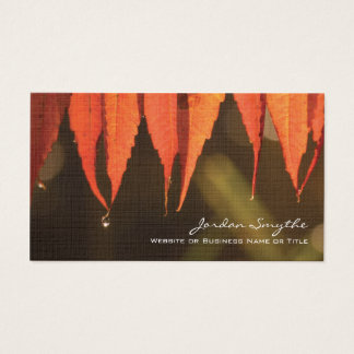 Morning Dew Business Card