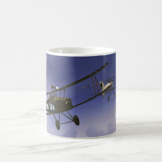 Morning Dogfight Coffee Mug