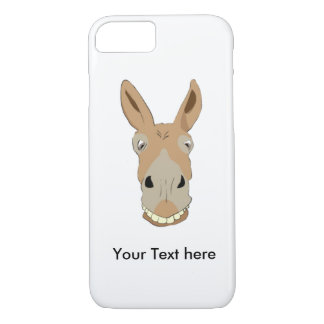 Morning Donkey with a Smile iPhone 7 Case