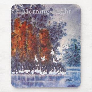 morning flight mouse mat