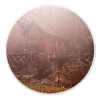 Morning Fog Ceramic Knob