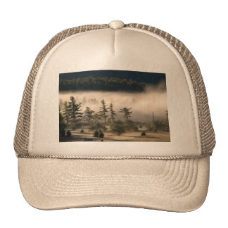 Morning Fog in the Adirondacks Trucker Hats
