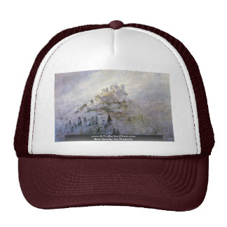 Morning Fog In The Mountains Trucker Hat