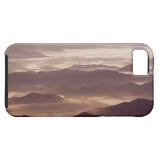 Morning fog in the southern Appalachian iPhone 5 Cases