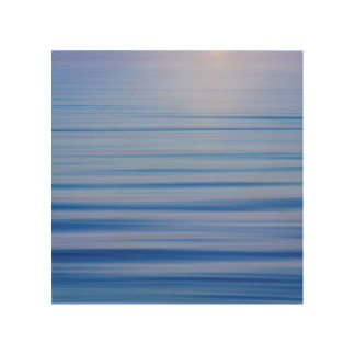 Morning Fog Lifts from Hood Canal | Seabeck, WA Wood Wall Decor