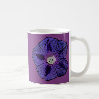 Morning Glory Abstract Coffee Mug