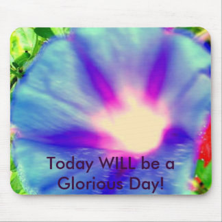 Morning Glory Alone Again Mouse Pad