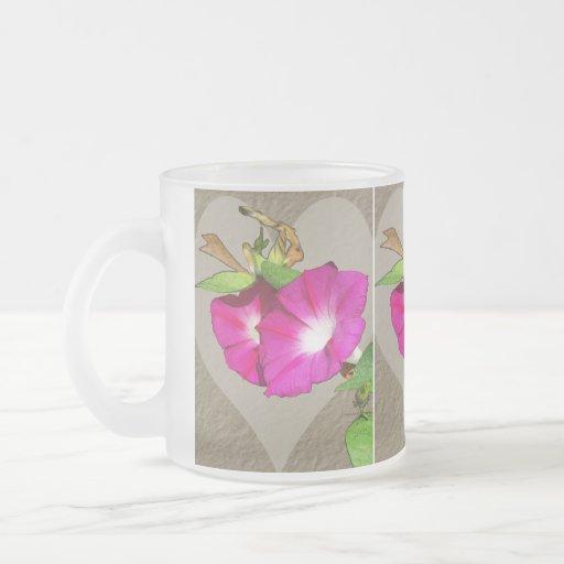 Morning Glory and Heart Coffee Mug